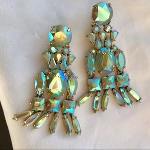 Jcrew Playa Iridescent Chandelier Earrings